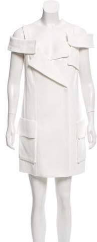 Monse Cold-Shoulder Moto Dress w/ Tags
