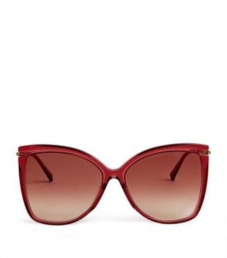 Max Mara Mega Cat Eye Sunglasses