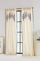 Anthropologie Beaded Julie Curtain