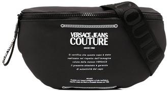 Versace Jeans Couture Logo Plaque Belt Bag