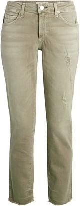 Amo Stix Distressed Cropped Jeans