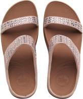 FitFlop Womens Novy Slide Sandals Nude