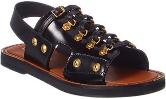 Christian Dior Studded Leather Sandal