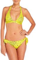 Jimmy Choo American Printed Triangle Bikini