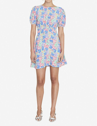 Faithfull The Brand Sidonie floral-print crepe mini dress