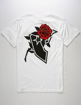 Famous Stars & Straps Stencil Rose Mens T-Shirt
