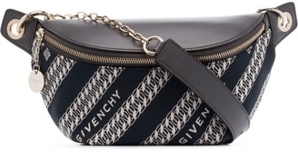 Givenchy Bond chain-print belt bag
