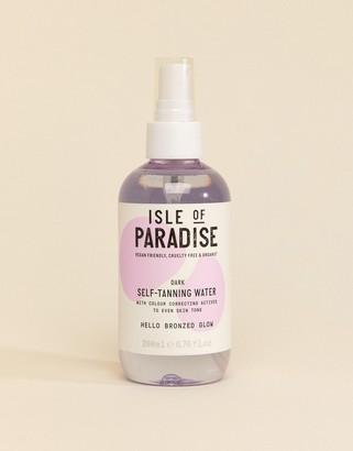 Isle of Paradise Self Tanning Water - Dark 200ml