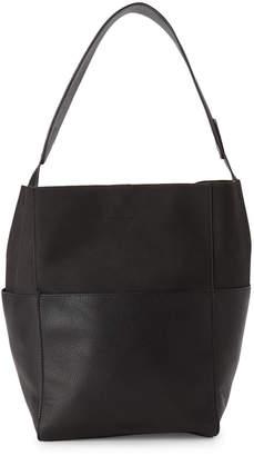 Street Level Black Shoulder Bag