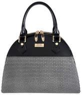 Serenade Serenade Mini Cosmo Triple Compartment Leather Bag