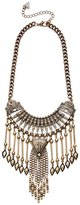GUESS Terra Fringe Statement Necklace