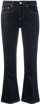 Victoria Victoria Beckham kick-flare cropped jeans