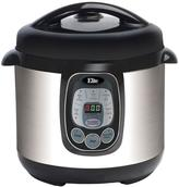 Elite Platinum 8 qt. Digital Pressure Cooker with Non-Stick Pot in Silver