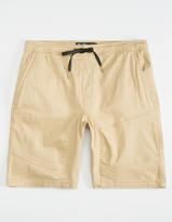 BROOKLYN CLOTH Twill Mens Jogger Shorts