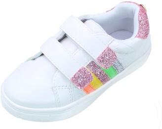 Nicole Miller Rainbow Glitter Sneaker