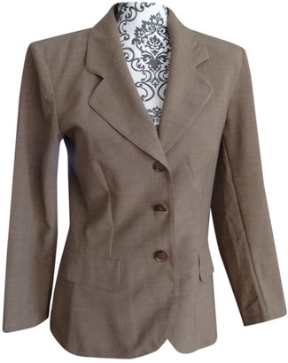 Cacharel Brown Wool Jackets