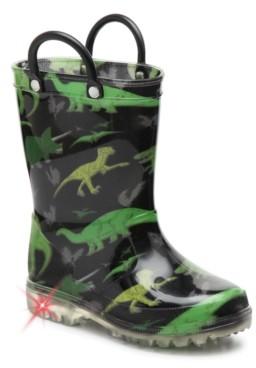 Max + Jake Dino Light-Up Rain Boot - Kids'