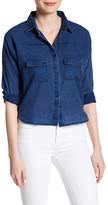 Fire Long Sleeve Button Up Shirt