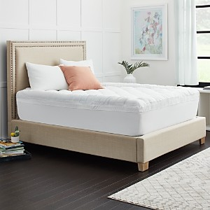 Sealy 3+1 Memory Foam Mattress Topper with Fiber Fill Cover, King
