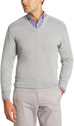 Cutter & Buck Men's Big-Tall Broadview V-Neck Sweater