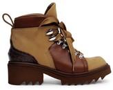 Chloé Bella Nubuck & Leather Hiking Boots