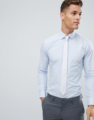 French Connection Slim Fit Poplin Shirt