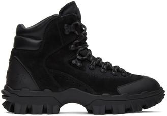 Moncler Black Herlot Lace-Up Boots