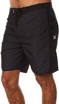 Hurley Motion Stripe Mens Boardshort Black
