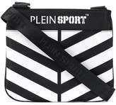 Plein Sport striped crossbody bag
