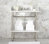 Pottery Barn Apothecary Single Sink Console