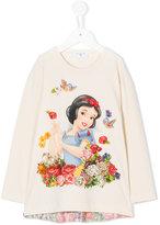 MonnaLisa Snow White print top