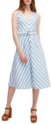 Kate Spade Deck Stripe Sleeveless Dress