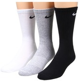 Nike Cotton Cushion Crew with Moisture Management 3-Pair Pack