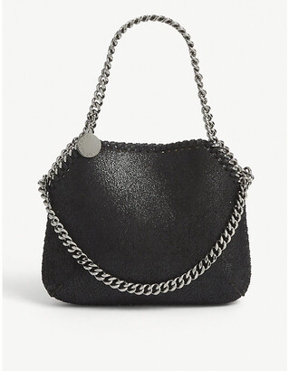 Stella McCartney Mini Falabella faux-suede tote bag