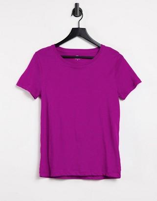 J.Crew J. Crew vintage cotton crew neck t-shirt in purple