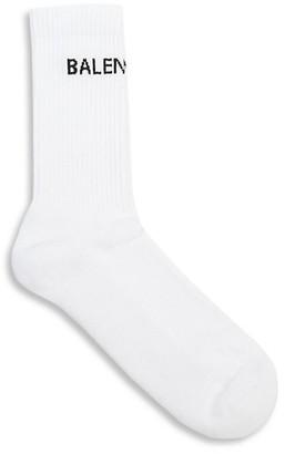 Balenciaga Logo Tennis Socks