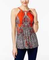 INC International Concepts Empire-Waist Halter Top, Only at Macy's