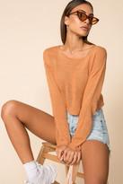 superdown Jocelyn Sheer Sweater