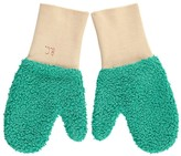 Bobo Choses Two-Tone Faux Fur Mittens