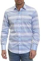 Robert Graham Ombre Shadow Plaid Sport Shirt