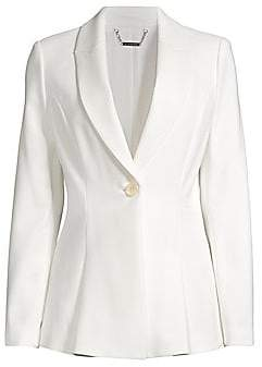 Elie Tahari Women's Arya Single-Button Jacket