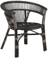 Pier 1 Imports Bahasa Taupe Wicker Stacking Chair