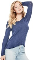 GUESS Women's Oasis Heathered Tee