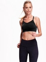 Old Navy Go-Dry Seamless Light Support Sports Bra for Women