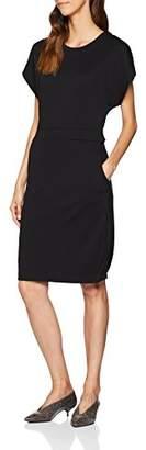 Selected Women's Slfvella Ss Dress B Black, 12 (Size: Medium)
