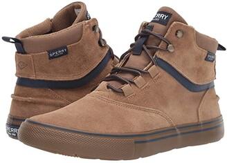 Sperry Striper Storm Waterproof Boot (Tan Suede) Men's Shoes