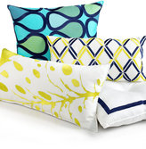 """Trina Turk 20"""" Square Abstract Decorative Pillow"""