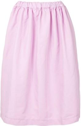 Comme des Garcons Elasticated Waist Flared Skirt