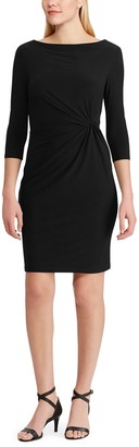 Lauren Ralph Lauren Mid-Length Dress with 3/4 Sleeves