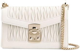 Miu Miu Confidential matelasse crossbody bag
